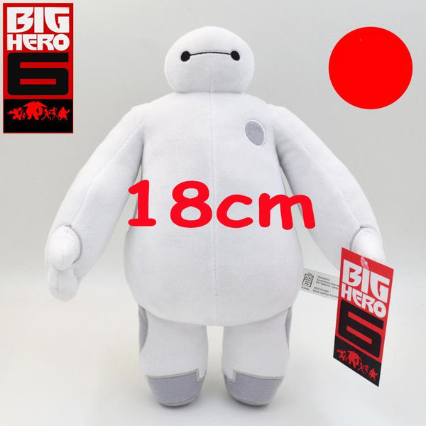 18cm Baymax Robot Big Hero 6 Cartoon Movie Plush - LADSPAD.UK