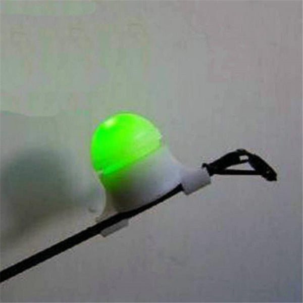 2 in 1 LED Night Fishing Rod Tip Clip on Fish Strike Bite Alert Alarm Light - LADSPAD.UK