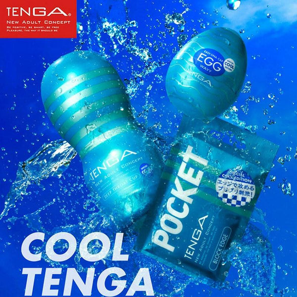 TENGA COOL Mint Male Masturbator Series Deep Throat Sex Cup&Self-feeling Aircraft Cup&CORRUGATED Egg Adult Sex Toys For Men