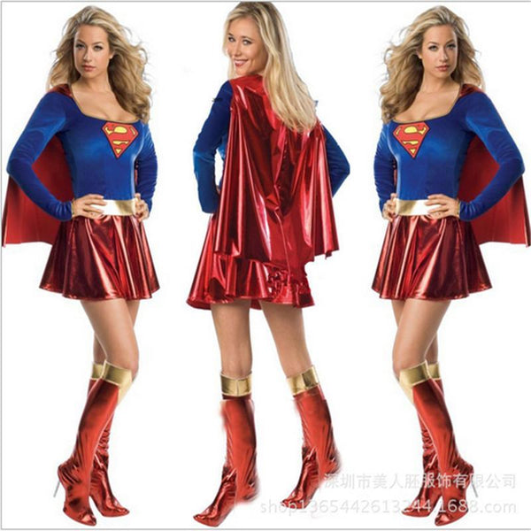 Womens Supergirl Costumes