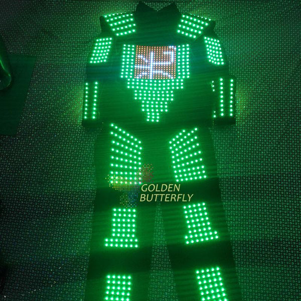 2017 LED Clothing Full color color clothes Children show clothing Display function LED Costumes Performance clothing - LADSPAD.UK