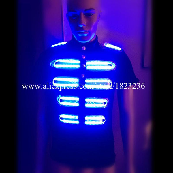 2 Sets Colorful Led Luminous Growing  Stage dancewear - LADSPAD.UK