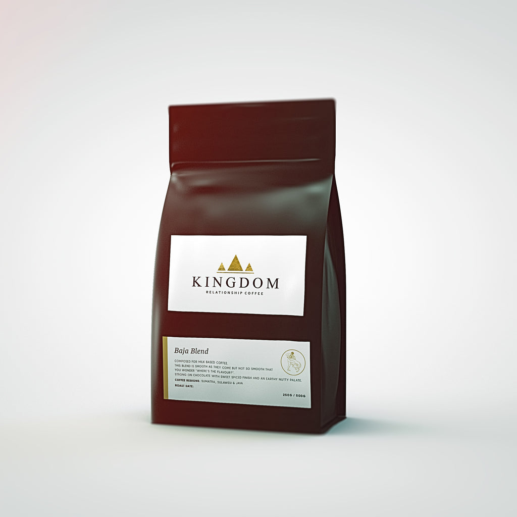 Kingdom Coffee Roasters - Baja Blend | Roasted Coffee Beans | Northern Beaches Sydney