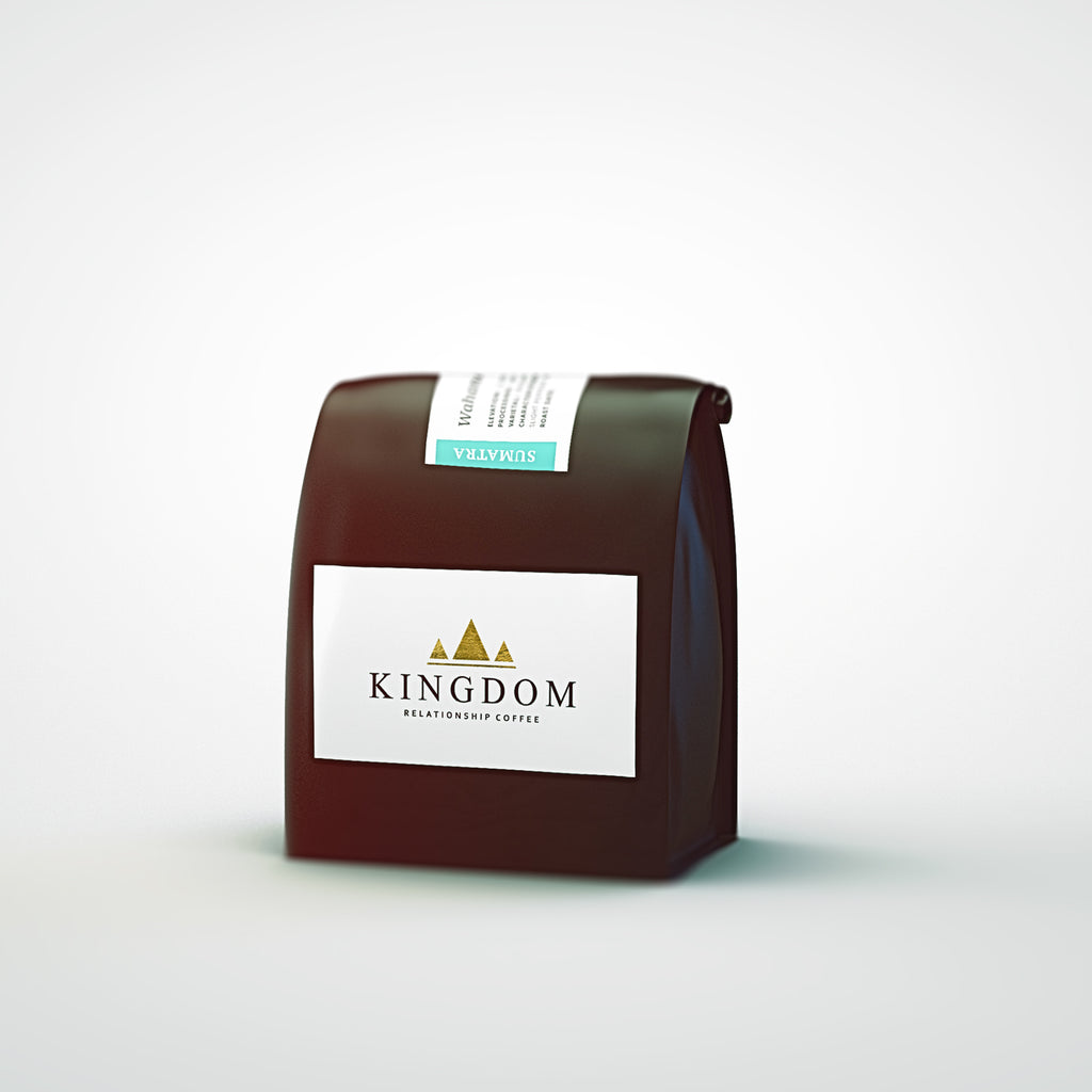 Kingdom Coffee Roasters -Sumatran Gold Top | Roasted Coffee Beans | Northern Beaches Sydney