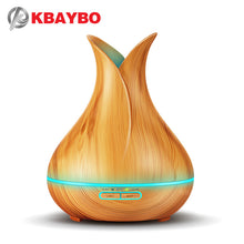Load image into Gallery viewer, KBAYBO 150ml Mini Humidifier Electric Aroma Essential Oil Diffuser With LED Night Light Ultrasonic Humidfiers For Home Office