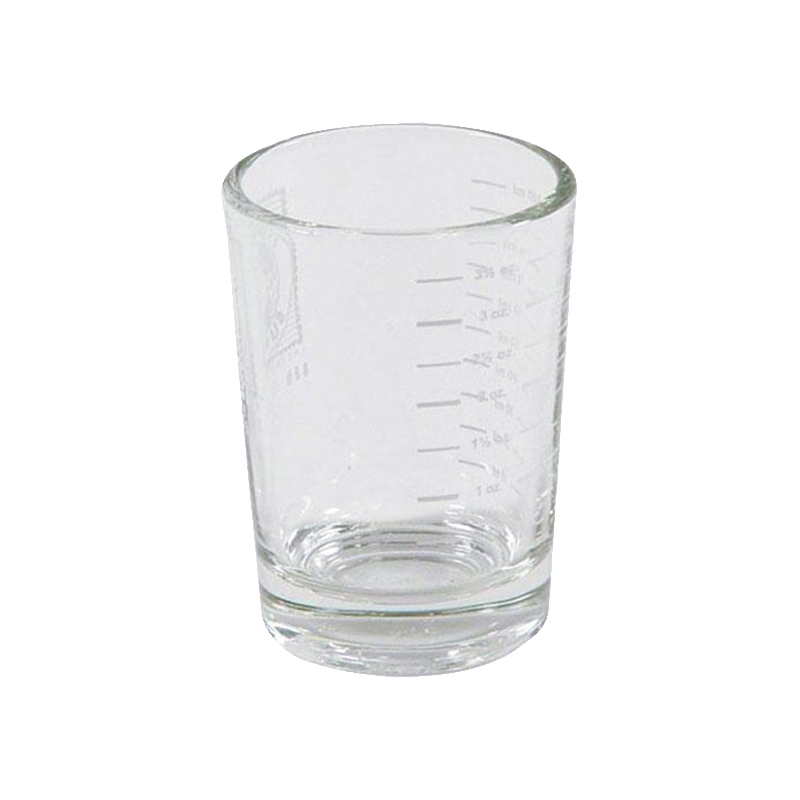 Shooter gradué en verre - 4oz