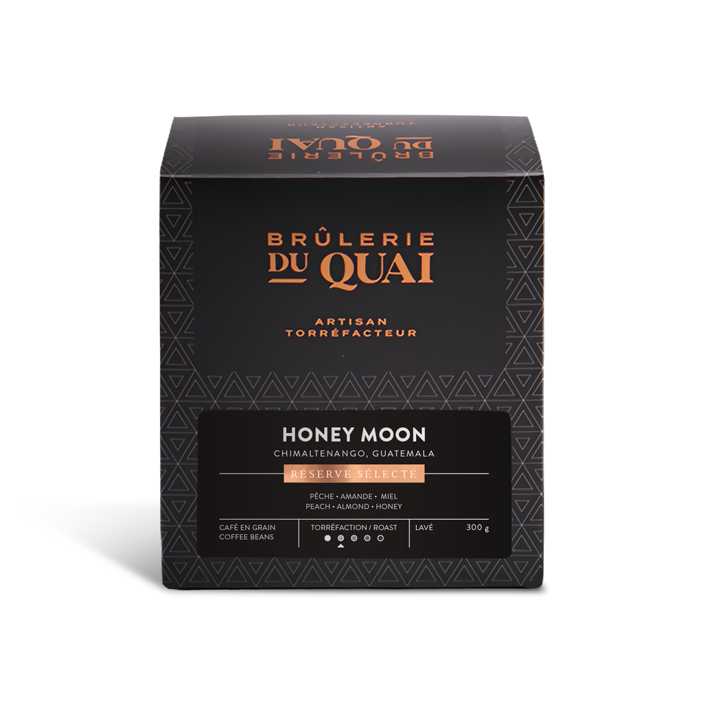 Honey Moon Coffee Fermented in brewer's yeast