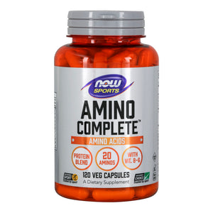 Amino Complete™, Protein Blend With 21 Aminos and B-6, 120 Veg Capsules