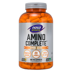 Amino Complete™, Protein Blend With 21 Aminos and B-6, 360 Veg Capsules