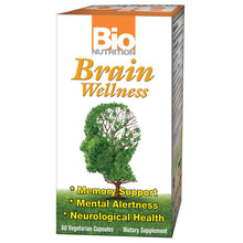 Load image into Gallery viewer, Brain Wellness, Memory Alertness Support, 60 Capsules