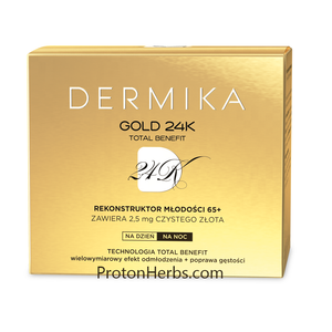 Dermika Gold Total Benefit 65+