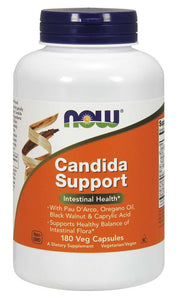 Candida Support, 180 capsules, NOW Foods