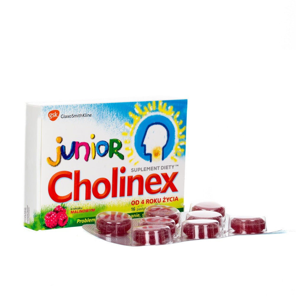 Cholinex Junior 16 pastylek