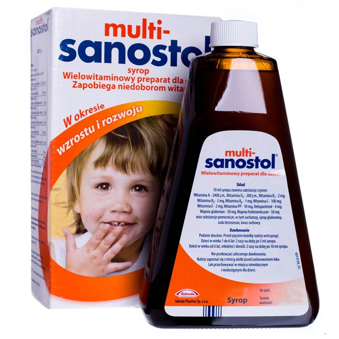 Multi Sanostol 300 ml Mutivitamin Syrup