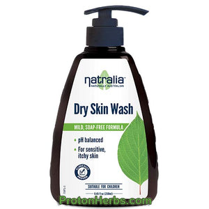 Dry Skin Wash, 250ml, Natralia