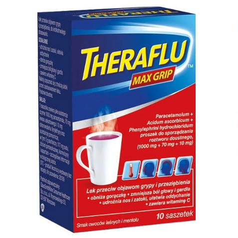 Theraflu Max Grip saszetki