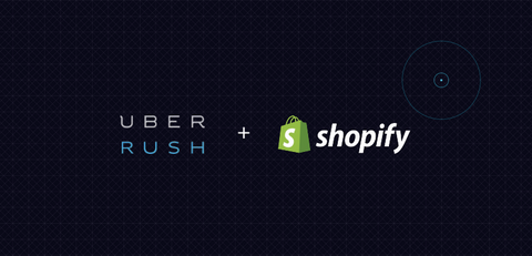 UberRUSH + Shopify Partnership launches same day holiday gifts delivery in San Francisco