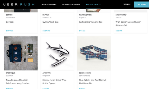 UberRUSH featured our chrome hammerhead shark hammer wine corkscrew beer bottle opener on their website as their favorites