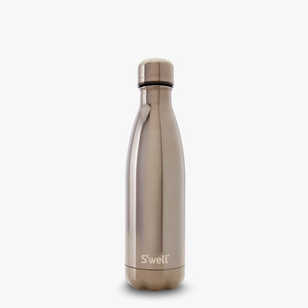 S'well Bottle titanium metallic collection medium 17 oz water bottle