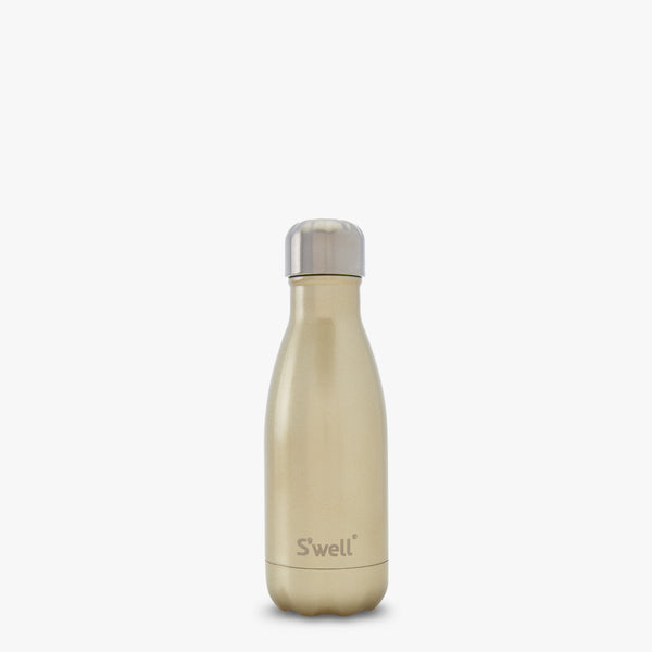 S'well Bottle Sparkling Champagne 9 oz small gold color water bottle