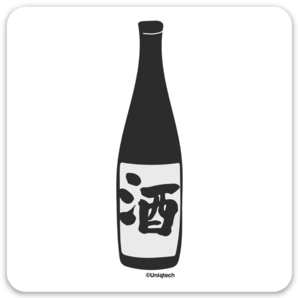 Japanese Sake Sticker