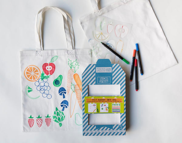 DIY Market Tote Bag kit by Yellow Owl Workshop