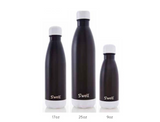 S'well Bottle Black Tie  9 oz Small water bottle Color Block Collection
