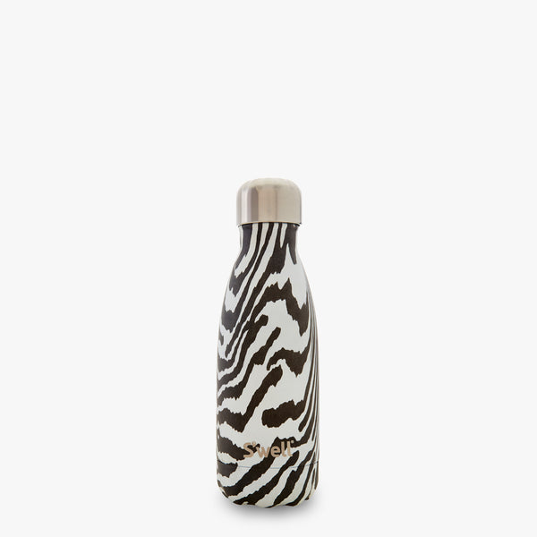 S'well Bottle Noir Zebra 9 oz small water bottle exotic collection
