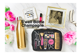 S'well Bottle Sparkling Champagne 17 oz golden color water bottle