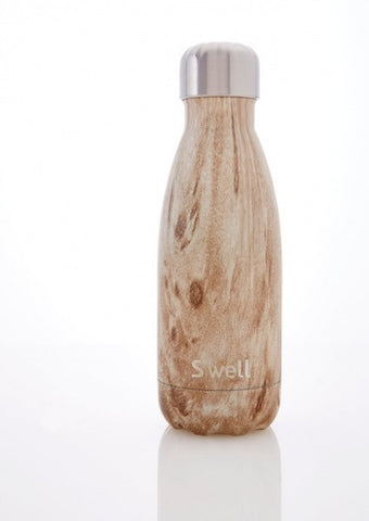 S'well Bottle Blonde Wood 9 oz small water bottle wood collection