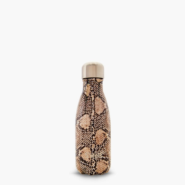 S'well Bottle Sand Python 9 oz small water bottle exotics collection
