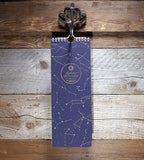 Zodiac Birthday Calendar Bison Bookbinding & Letterpress Stationery Notebook