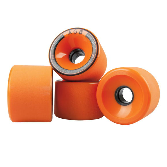 AOB - Alpha 74mm wheels Orange 83a  Wheels Gravity House  Longboard UK Skate store in south devon, Downhill skating shop online free shipping Arbor, Omen, Slide Perfect, Cuei, Landyatchz, Paris trucks