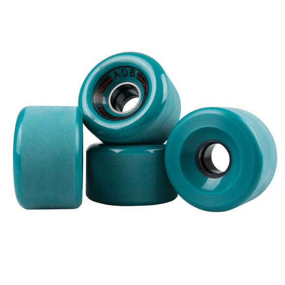 AOB - Banshee 70mm wheels Blue 78a  Wheels Gravity House  Longboard UK Skate store in south devon, Downhill skating shop online free shipping Arbor, Omen, Slide Perfect, Cuei, Landyatchz, Paris trucks