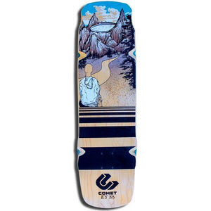 "Comet - Shred EJ33 9.25""  Deck Gravity House  Longboard UK Skate store in south devon, Downhill skating shop online free shipping Arbor, Omen, Slide Perfect, Cuei, Landyatchz, Paris trucks"