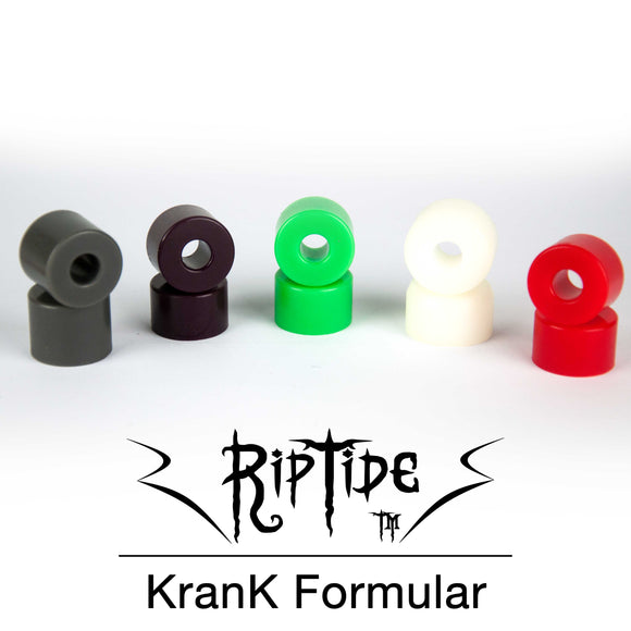 Riptide - KranK Bushings  Bushings Gravity House  Longboard UK Skate store in south devon, Downhill skating shop online free shipping Arbor, Omen, Slide Perfect, Cuei, Landyatchz, Paris trucks