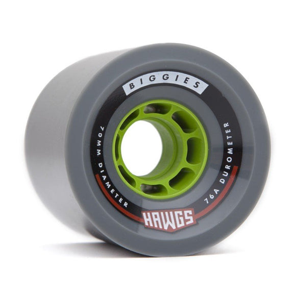 Hawgs - Biggie Race Wheels Grey  Wheels Gravity House  Longboard UK Skate store in south devon, Downhill skating shop online free shipping Arbor, Omen, Slide Perfect, Cuei, Landyatchz, Paris trucks