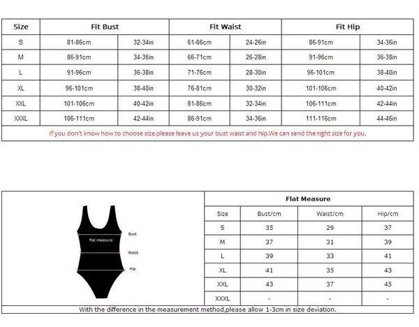 zipper suit sizing
