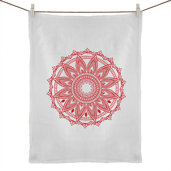 Mandala Tea Towel