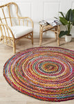Aria Rug - Natural Multi Coloured - 4 sizes