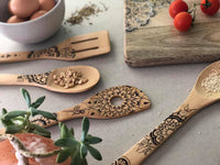 Bamboo Salad Servers Set