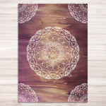 Gemstone Mandala Print - mandala rasa - bohemian lifestyle - mandala - home decor - clothing - yoga - activewear