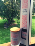 Natural Soy Candle & Reed Diffuser - Lotus Flower
