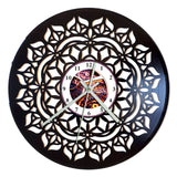 Vinyl Record Mandala Clocks - 6 Designs