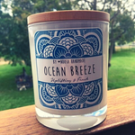 Natural Soy Candle - Ocean Breeze