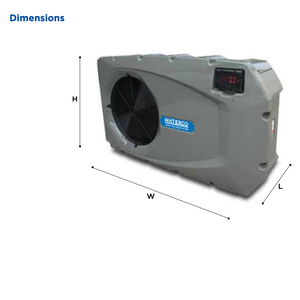 Electroheat MKV Pool Heat Pump