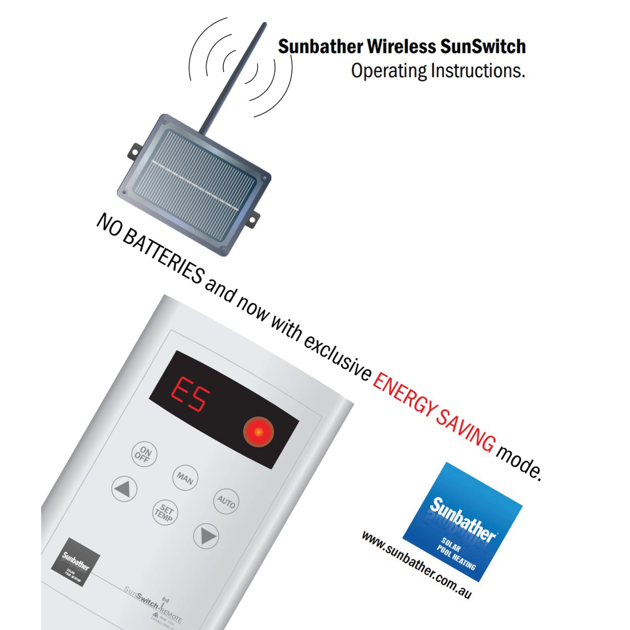 Sunbather Sunswitch wireless controller