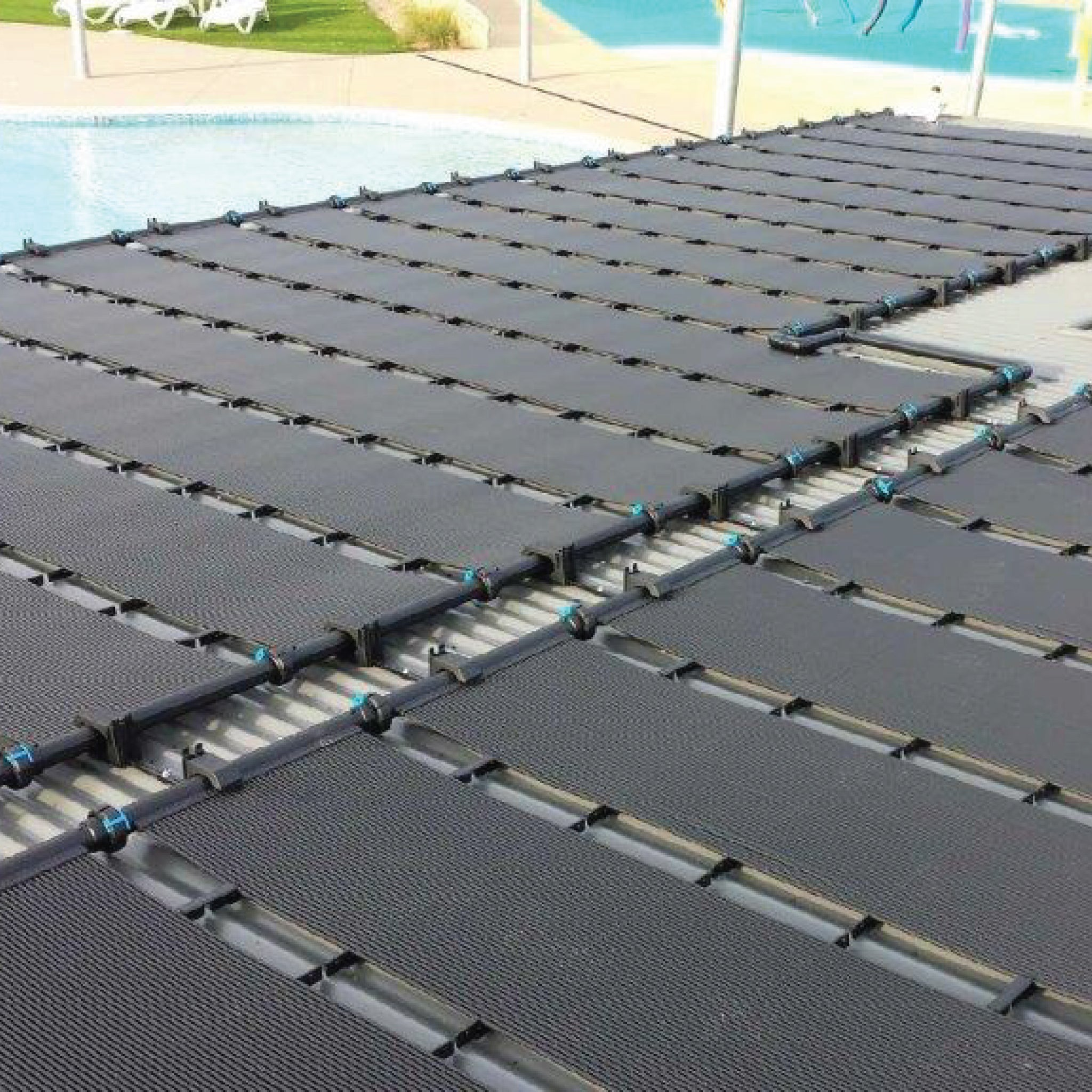 Suntube 2, Rigid solar pool heating panels