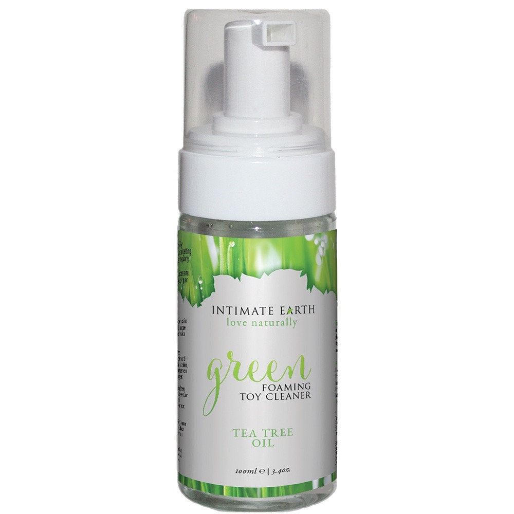 Green Foaming Toy Cleaner from Intimate Earth