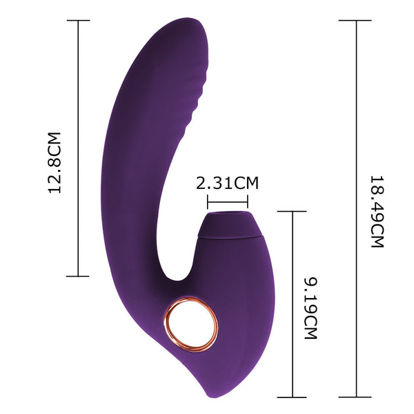 Ailsa G-Spot Sucking Vibrator Suction Vibrator Aimersie